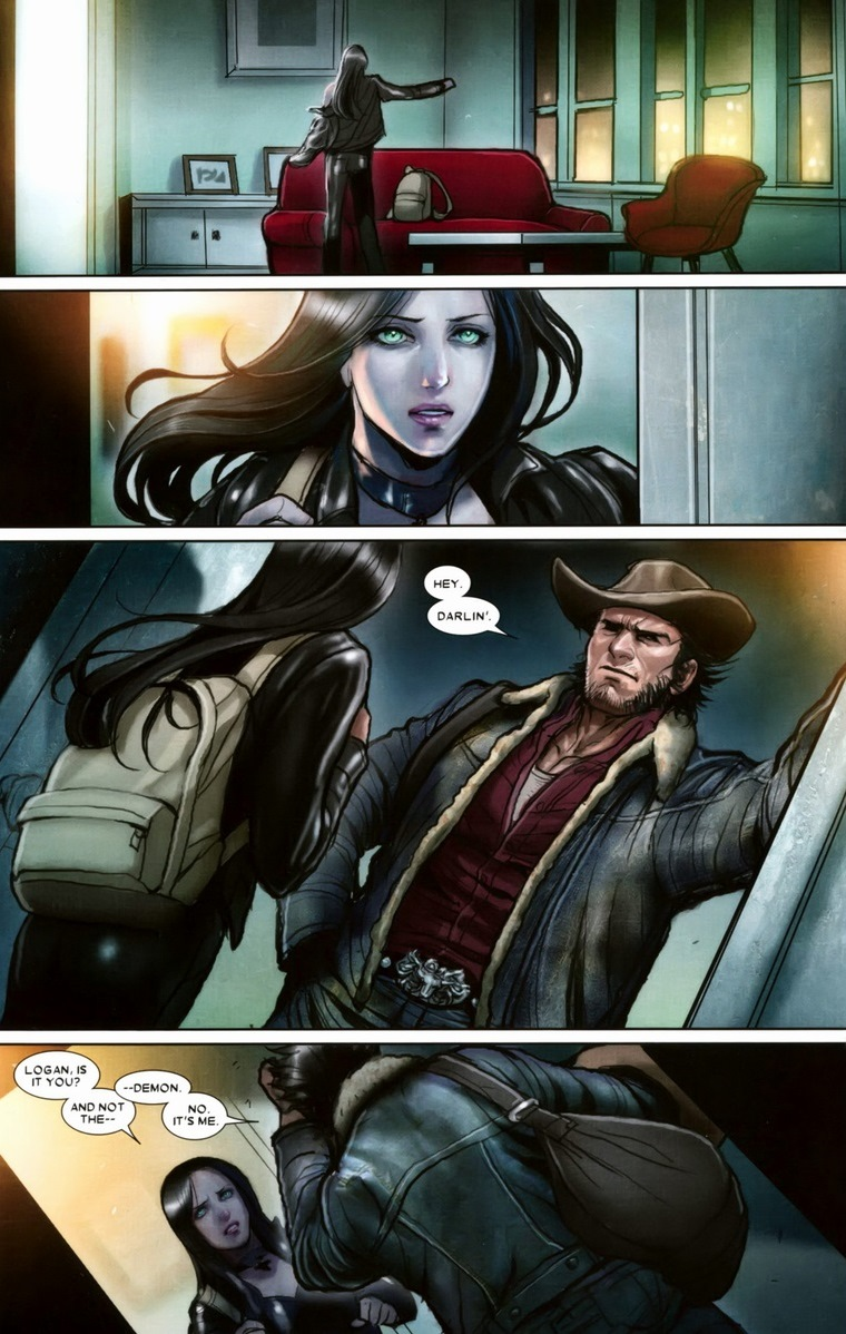 Dark Wolverine vs X23 7 Dark Wolverine vs Gambit